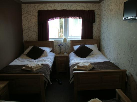 White Heather Hotel: before the boys could try out the beds