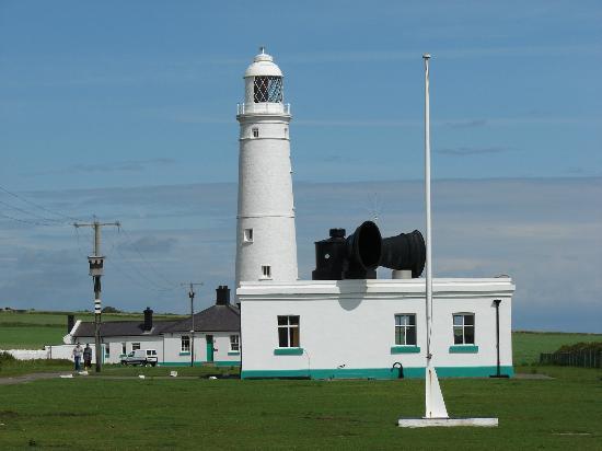 Nash Point Lighthouse.