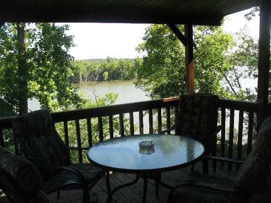 Chaonia Landing Resort & Marina: View from Cabins