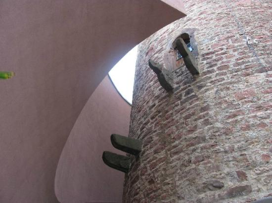 Spitzer Turm: modern ans old embrasing each other