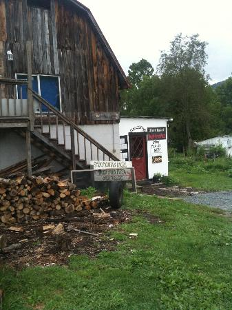 Smoky Mountain Bakers: Real Wood for the wood fired pizza/bread oven