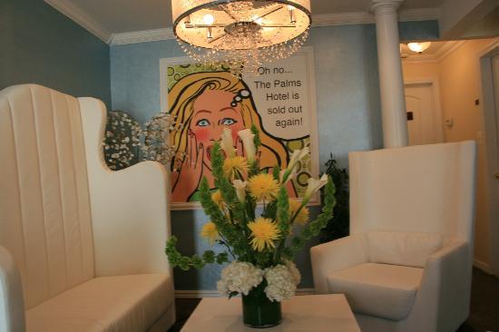 The Palms Hotel Fire Island: our Main Lobby