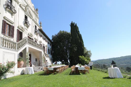 Villa  Vistarenni: Front of villa