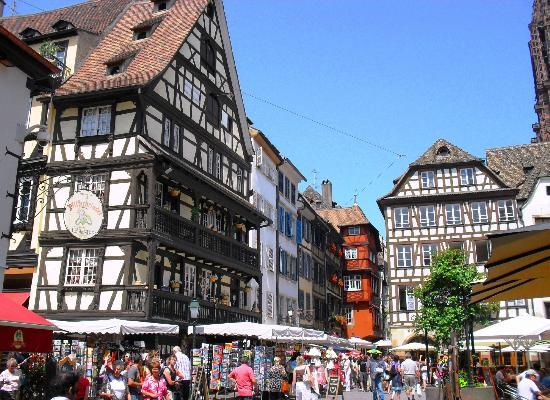 Old Town Picture Of La Petite France Strasbourg