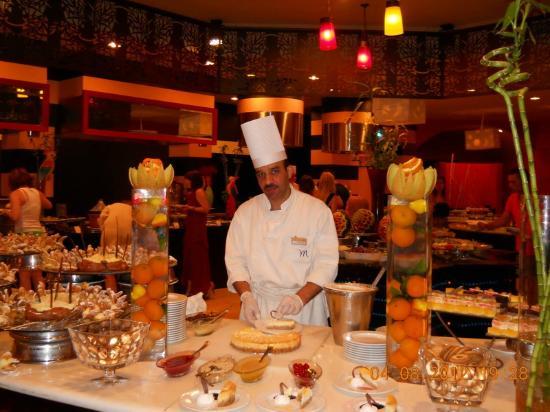 Mercure Hurghada Hotel: Chef Sameh