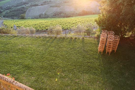 Villa  Vistarenni: Front lawn