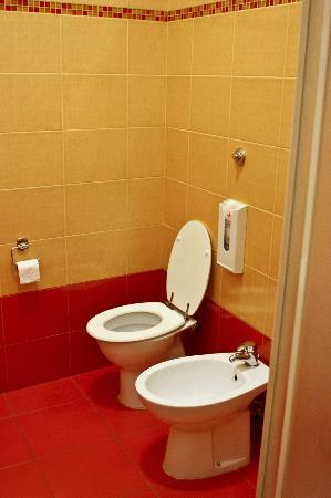 Guest Haus Praetorium: Blue Room - Toilet