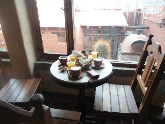 Antigua Tilcara B&B: Desayuno...
