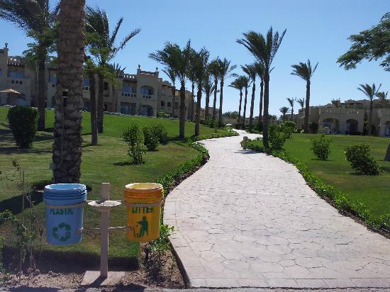 Rixos Sharm El Sheikh: المساحات الخضراء