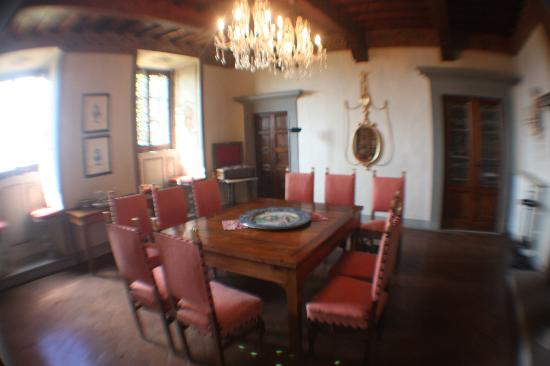 Villa  Vistarenni: Dining room