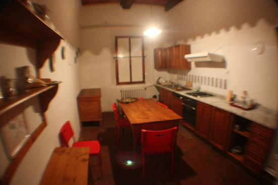 Villa  Vistarenni: Upstairs secondary kitchen