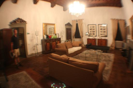 Villa  Vistarenni: Upstairs living room