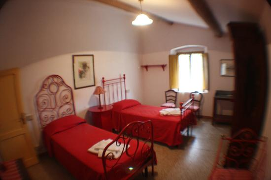 Villa Vistarenni: Cottage bedroom