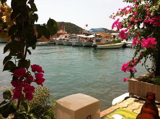 Hassan Restaurant : panorama durante il pranzo