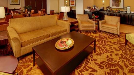 Doubletree Hotel Little Rock: Lobby-their pic