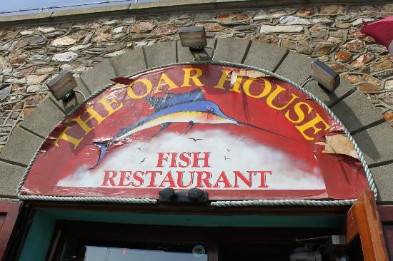 Fish chips picture of the oar house fish restaurant for The fish house restaurant