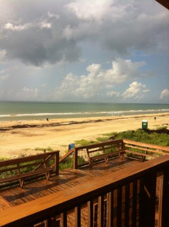 Surfside Beach, TX: view from suites