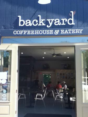 Backyard Coffeehouse & Eatery : best sandwiches and wraps