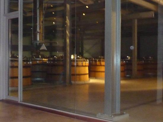 The Restaurant at Waterkloof: Wine making area