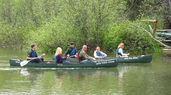 Whistler Eco Tours - River of Golden Dreams: Canoeing on The River of Golden Dreams