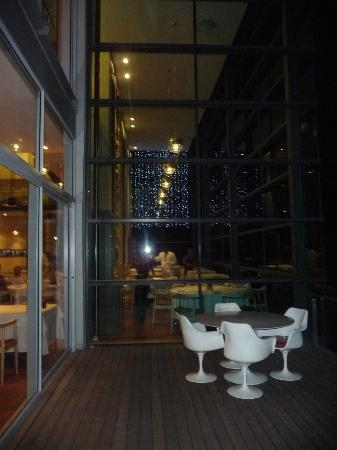 The Restaurant at Waterkloof: view from outside