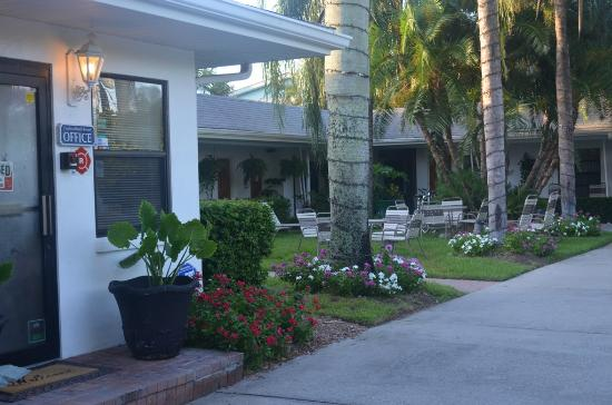 Captiva Beach Resort: Nice courtyard
