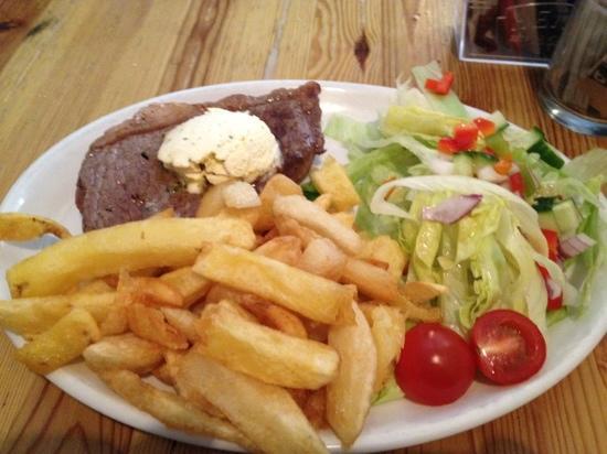 The Trawler: rump-steak