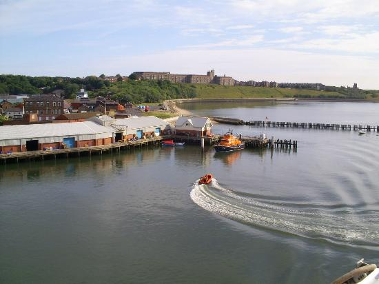 The Fish Quay Fair: North Shields Fish Quay from the Tyne