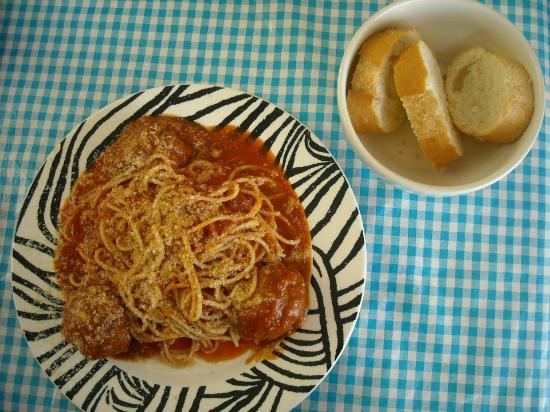 Il Capriccio: Albóndigas italianas deliciosas! Delicious meat balls!