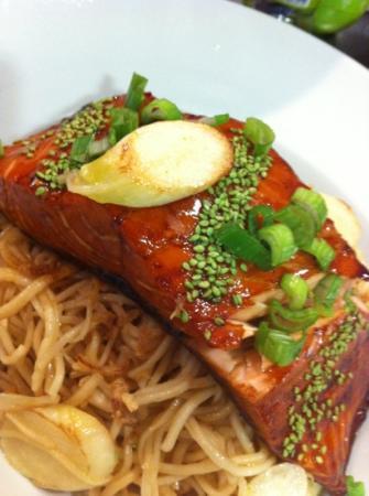 Basilico Restaurant: Salmon Teriyaki