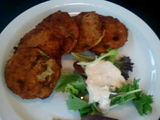 Boulevard Diner : Green fried tomatoes