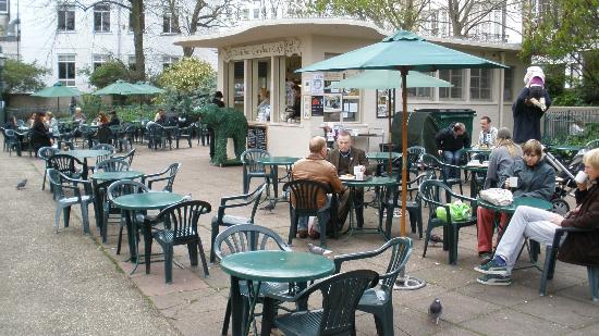 Pavilion Gardens Cafe, April, 2012.