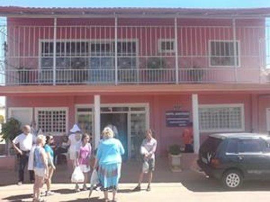 Abadiania, GO :                   Hotel Amazonas Entrance