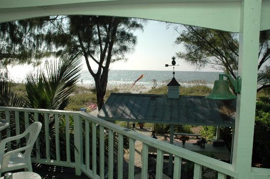 Colonial Court Inn: view from the 'Lighthouse apt'
