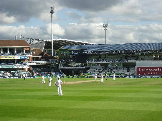 Headingley Carnegie Cricket Ground : Trueman Enclosure