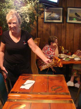 Kelly's Landing: Our waitress, Judy