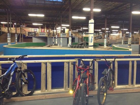 Cranx Indoor and Outdoor Bike & Sports Park: Biking at Cranx