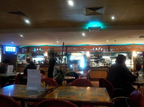 Interior of Clearwater Cafe (which is within the Caloundra RSL)