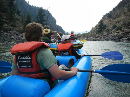 Paddle Colorado: Entering Red Gore Canyon