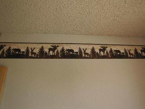 The Sands Resort : Wall border in room