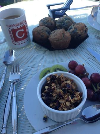 Cranberry Hill Inn: breakfast part 1