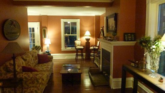 La Raveaudière: Foyer et salle de séjour