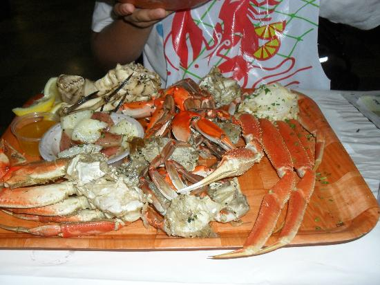 Crab legs picture of rustic inn crabhouse fort for Rustic hotels near me