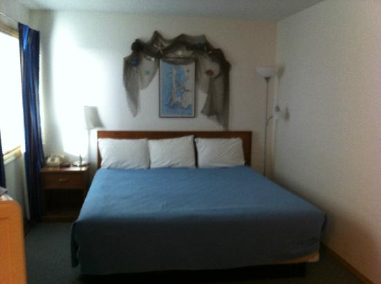 Chautauqua Lodge: The bedroom
