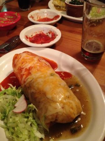 Sunfire Mexican Grill: Super burrito