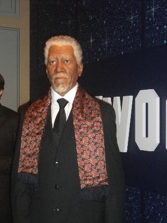 Morgan Freeman Picture Of Hollywood Wax Museum Pigeon