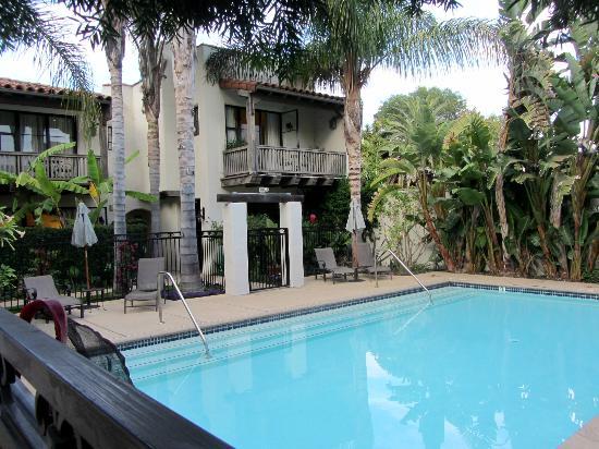 The Adorable Courtyard Picture Of Spanish Garden Inn Santa Barbara Tripadvisor