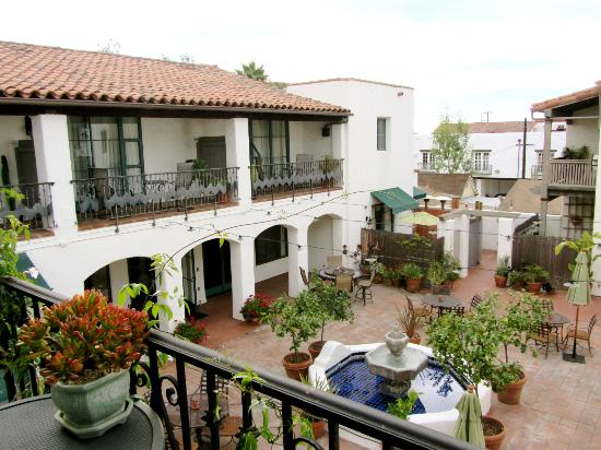 The Adorable Courtyard Picture Of Spanish Garden Inn