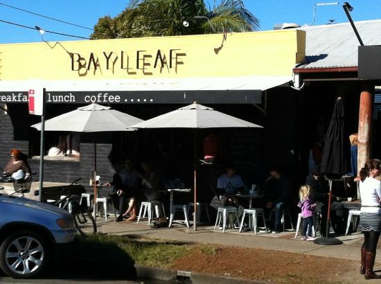 Bay Leaf Cafe : Outside