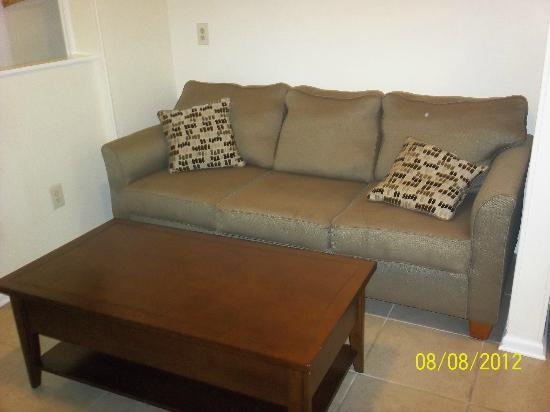 The Saint Augustine Beach House: Sofa in our room...